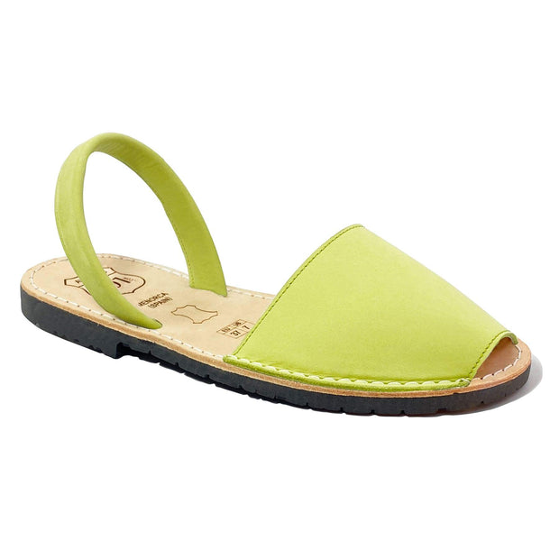 Avarcas 101 sandals for women Pistachio / US 4.5-5 / EU 35 sustainable shoes in the US