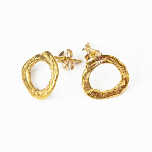 24K Gold Plated Earrings for Women - Drops Collection - Buy Avarca Sandals and Ethical Jewelry Online!