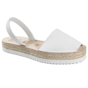 Avarcas 101 sandals for women White / US 4.5-5 / EU 35 sustainable shoes in the US