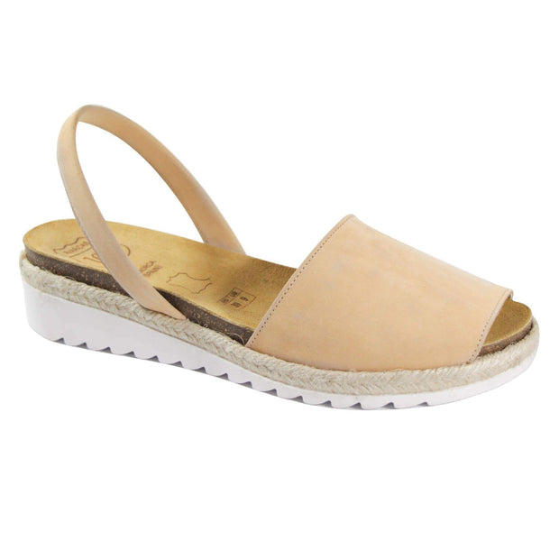 Avarcas 101 sandals for women Sand / US 4.5-5 / EU 35 sustainable shoes in the US