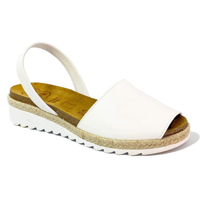 Avarca Anatomic Wedges White - Buy Avarca Sandals and Ethical Jewelry Online!