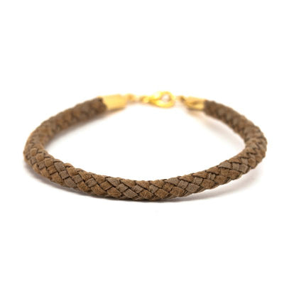 24K Gold Dipped Cord Bracelet for Women - Essential Collection-[SLOW JEWELRY]-Avarcas 101
