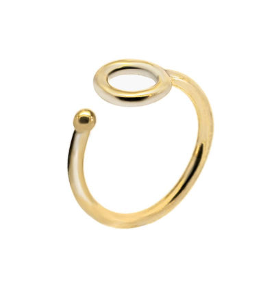 24K Gold Dipped Statement Ring for Women - Essential Collection-[SLOW JEWELRY]-Avarcas 101