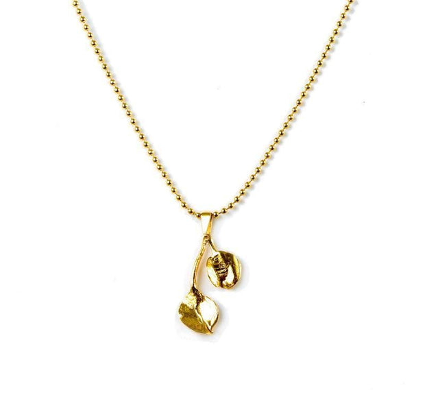 24K Gold Plated Necklace for Women - Nature Collection - Buy Avarca Sandals and Ethical Jewelry Online!