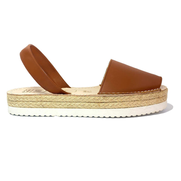 Avarcas Brown Flatforms - Buy Avarca Sandals and Ethical Jewelry Online!