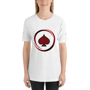 All In Poker Academy White Short-Sleeve Women's T-Shirt