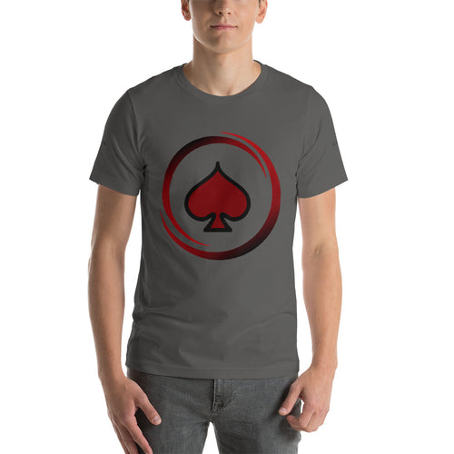 All In Poker Academy Grey Short-Sleeve Men's T-Shirt