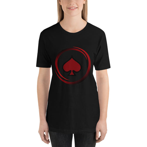 All In Poker Academy Black Short-Sleeve Women's T-Shirt