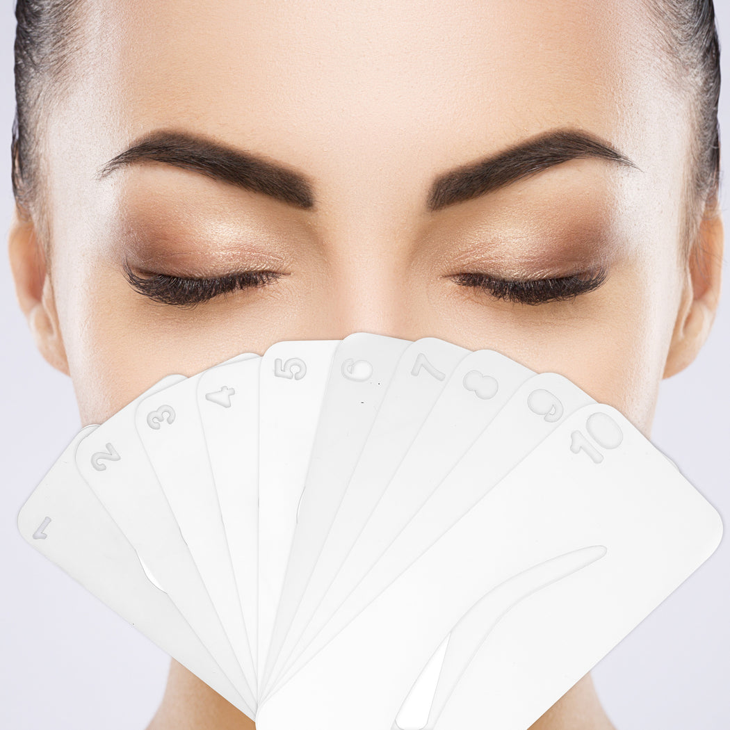 Glamist Eye Brow Stencil Set