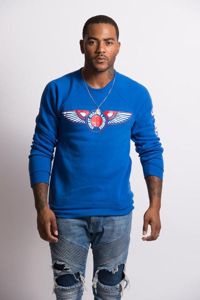 Street D&A Men Blue Sweater