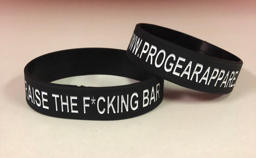 RAISE THE BAR WRISTBAND