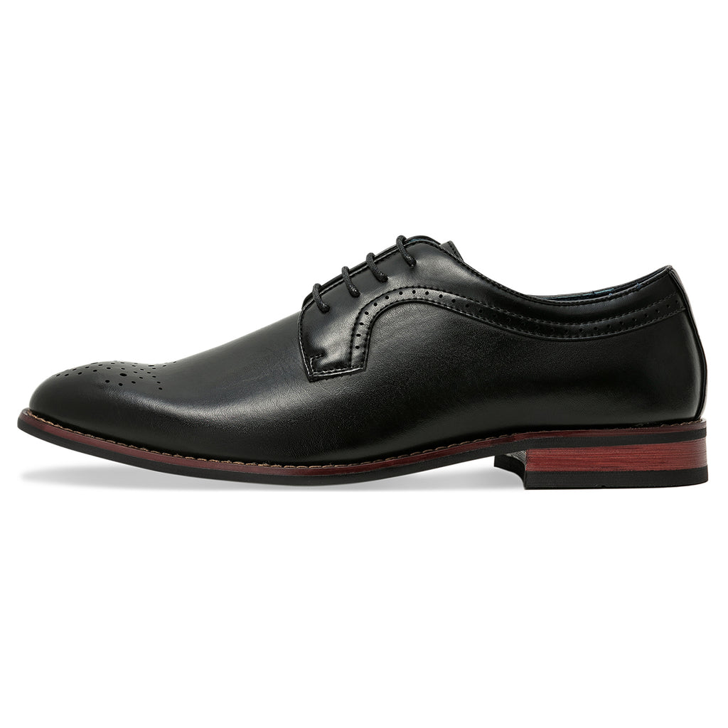 4795678d48f4 Mens Brogue Oxfords Classic Leather Lined Dress Shoes – ZRIANG