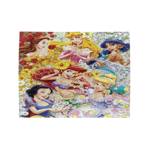 Disney Princesses Flower Rectangle Jigsaw Puzzle (Set of 110 Pieces)