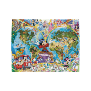 Mickey fantasia Disney Rectangle Jigsaw Puzzle (Set of 110 Pieces)