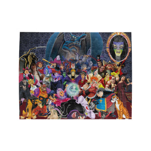 Disney Villains Rectangle Jigsaw Puzzle (Set of 110 Pieces)