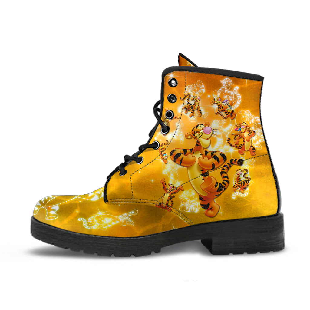 Tigger Leather Boots