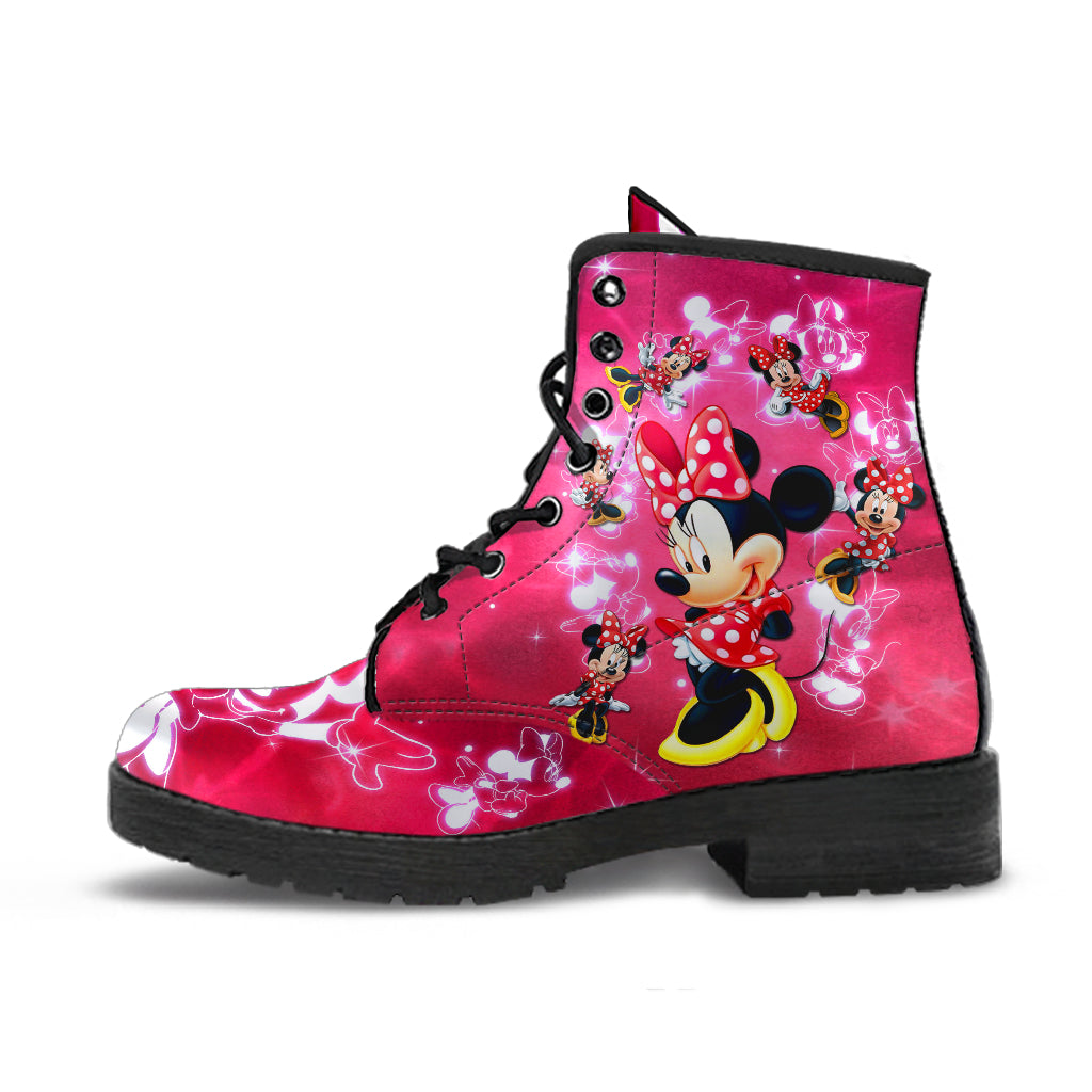 Minnie Leather Boots