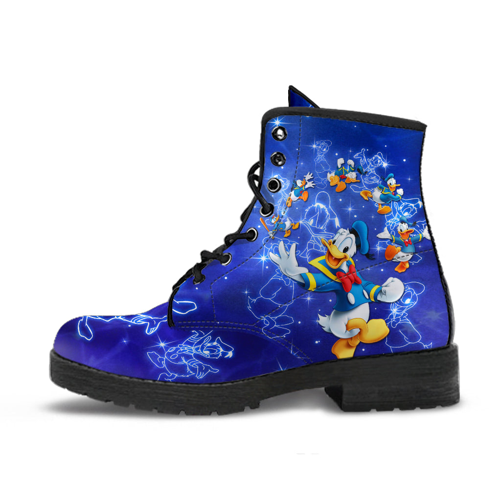 Donald Duck Leather Boots