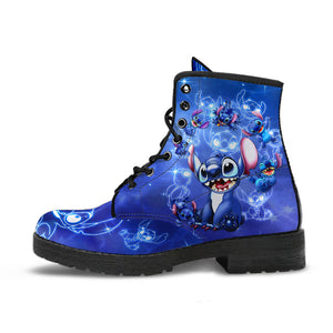 Stitch Leather Boots