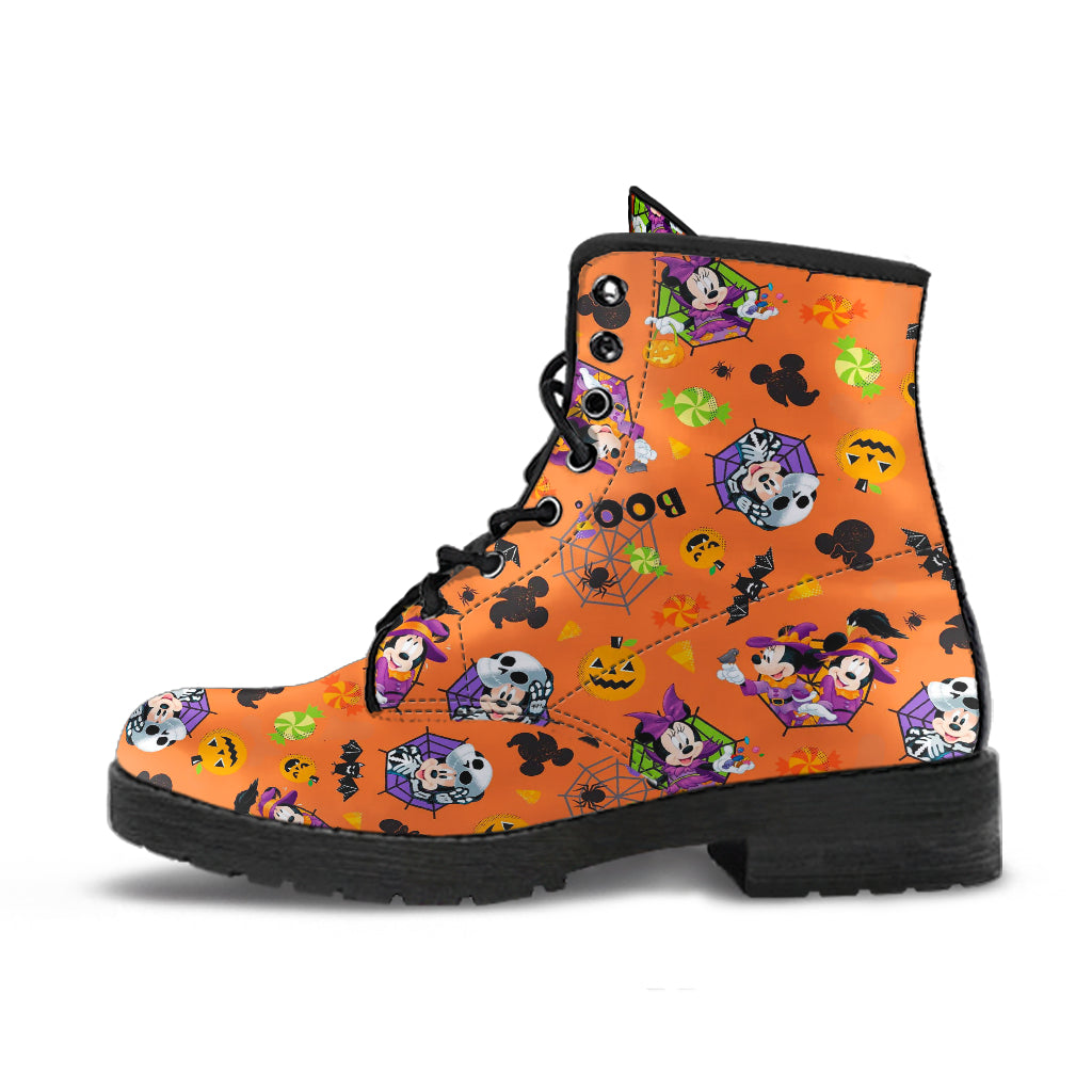 Disney Halloween Leather Boots