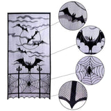 Halloween Decorations Props Spiderweb Lace Door Curtain Decoration
