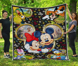 Mickey and Friends - Premium Quilt