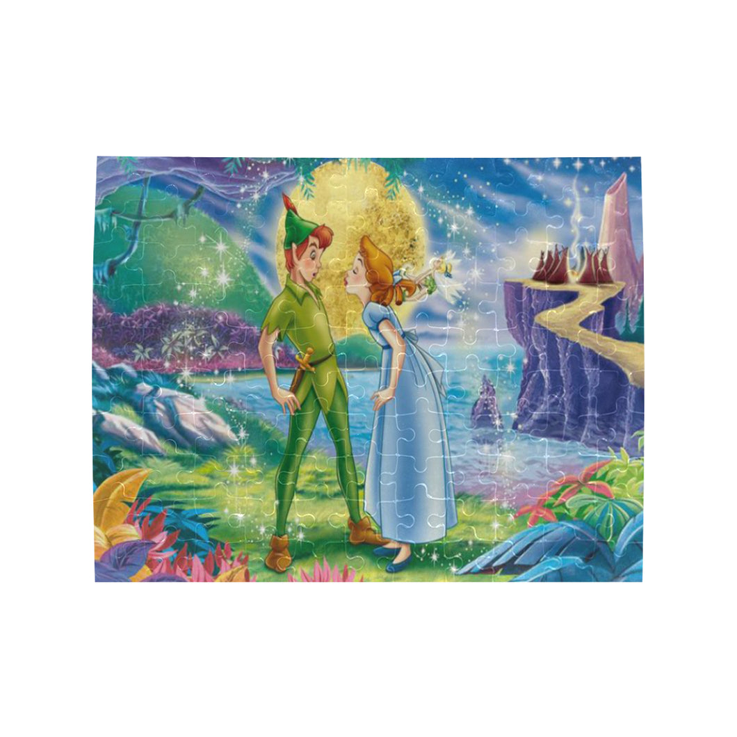 Disney Fairies Rectangle Jigsaw Puzzle (Set of 110 Pieces)