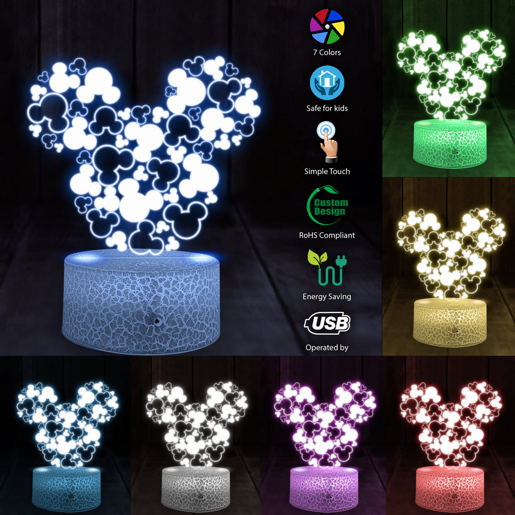 Hot New Arrival Christmas Mk 3D Led light
