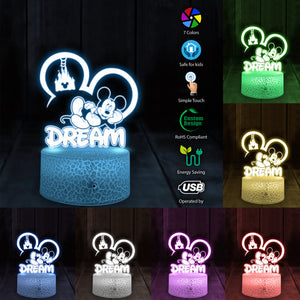 Dream 3D Led Light