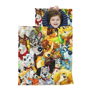 DN Dogs Mix Kids' Sleeping Bag