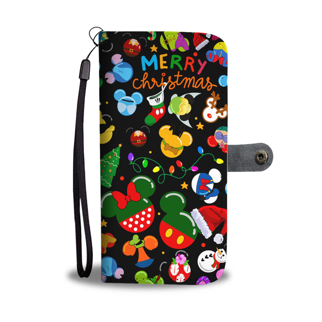 Q. 07. CHRISTMAS - wallet case
