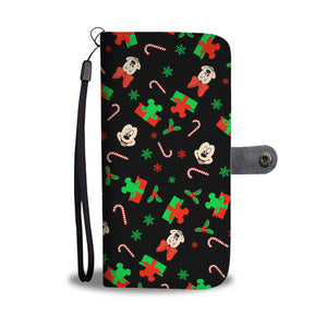 Q. 09. CHRISTMAS - wallet case