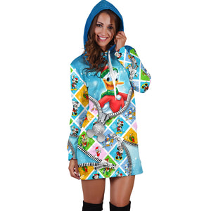 Donald Duck Hoodie Dress