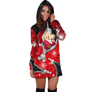 Grumpy Christmas Hoodie dress