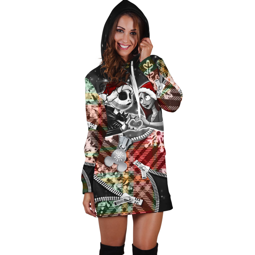 Nightmare Before Christmas Hoodie Dress