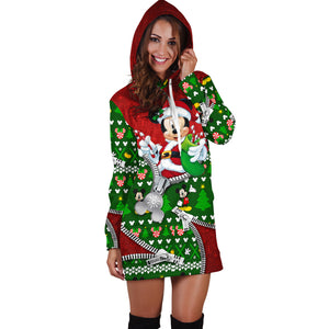 Mickey Christmas Hoodie Dress