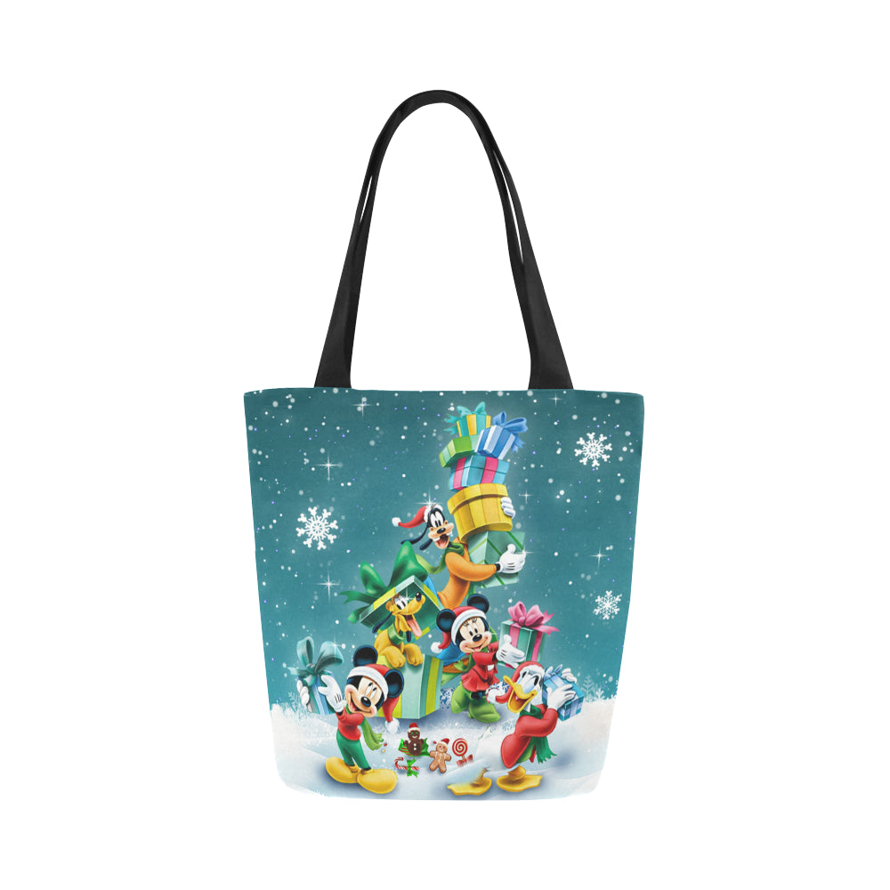Mk and friends Xmas Canvas Tote Bag (Model 1657)