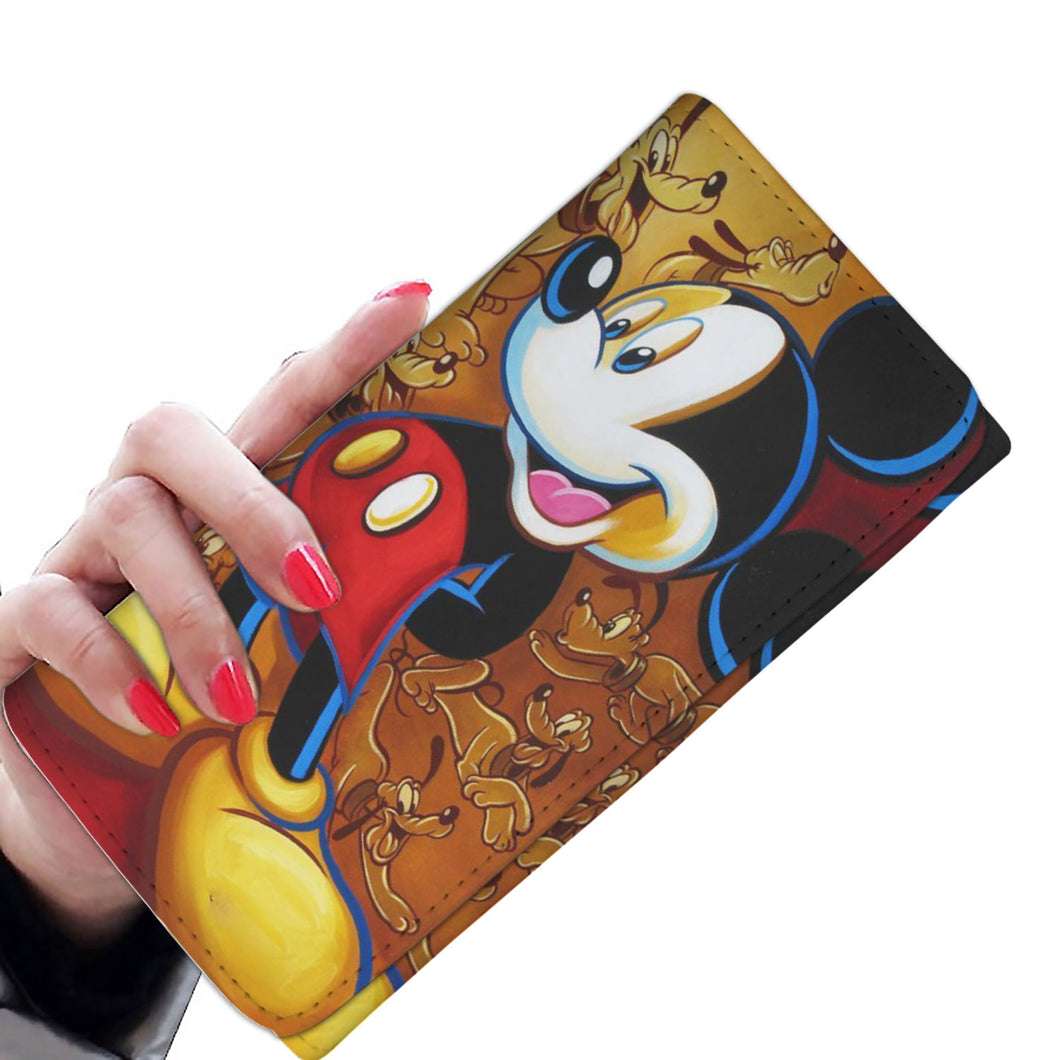 Mickey Mouse Womens Wallet