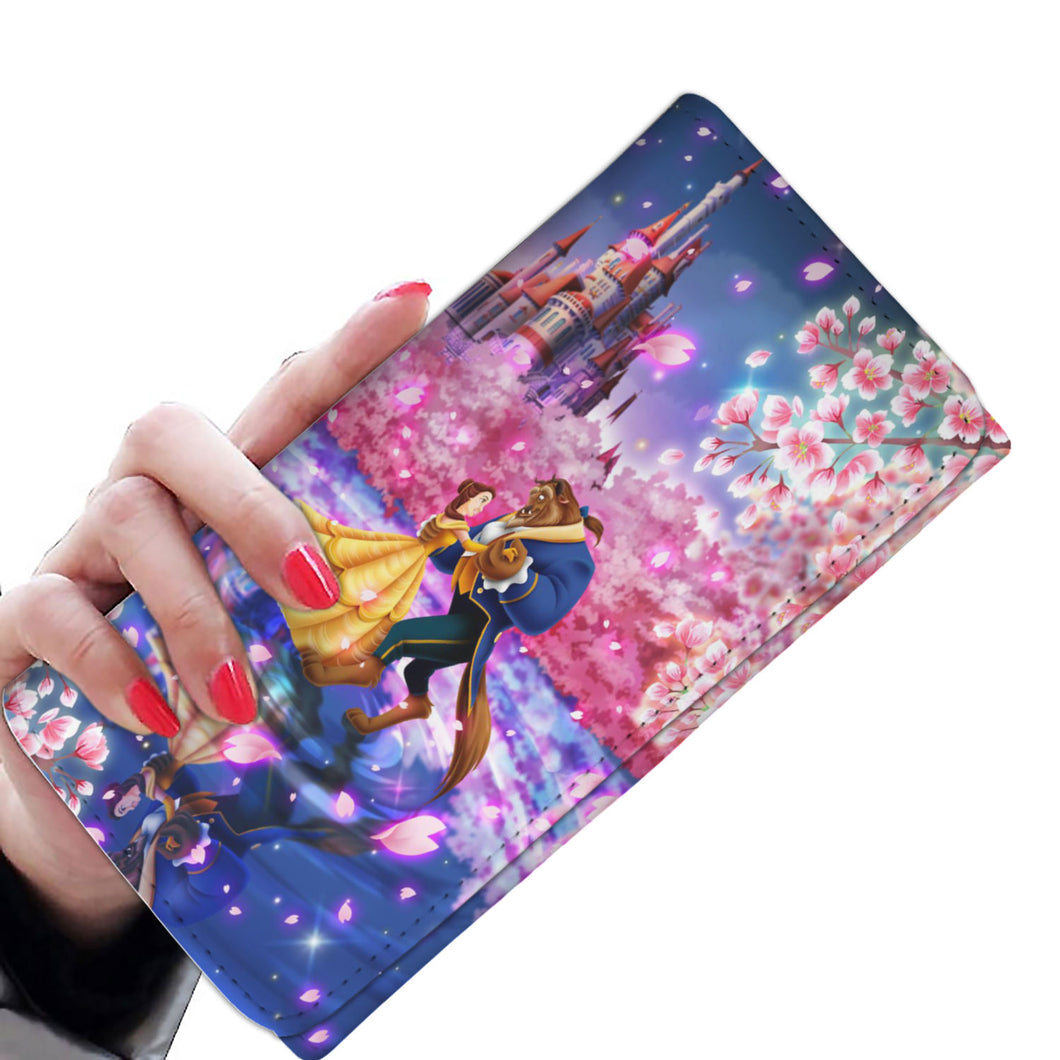 Beauty and the beast Women wallet