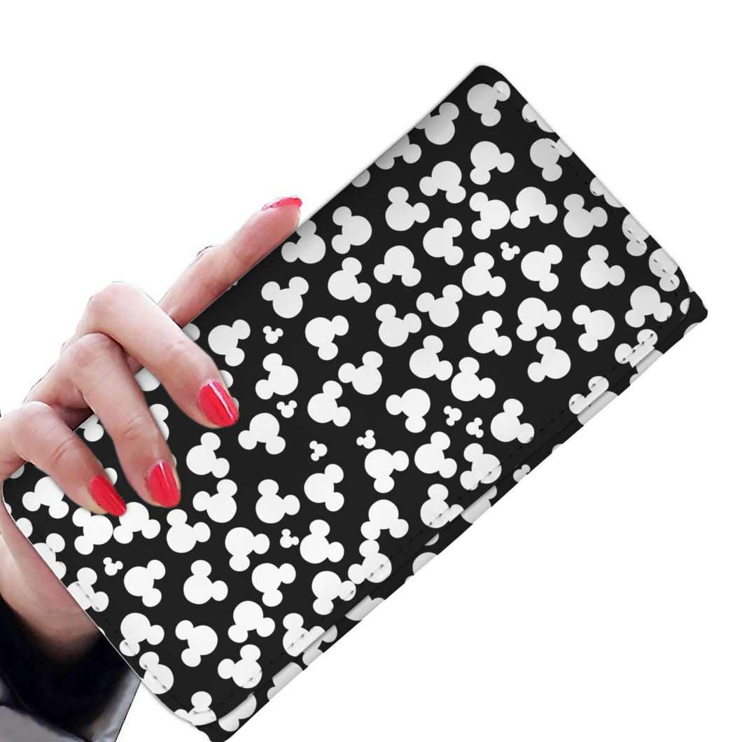 Mickey Pattern Women Wallet