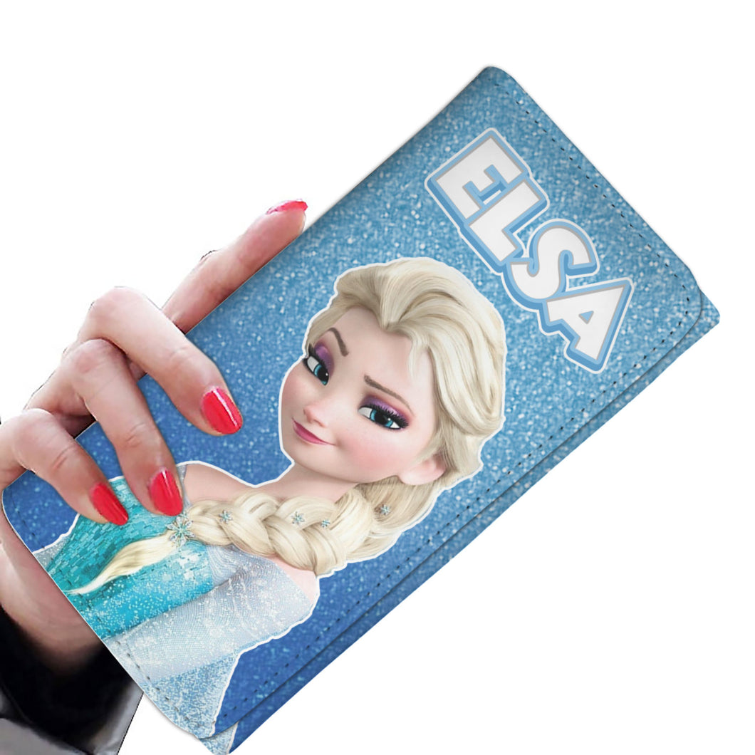Elsa Queen Women Wallet