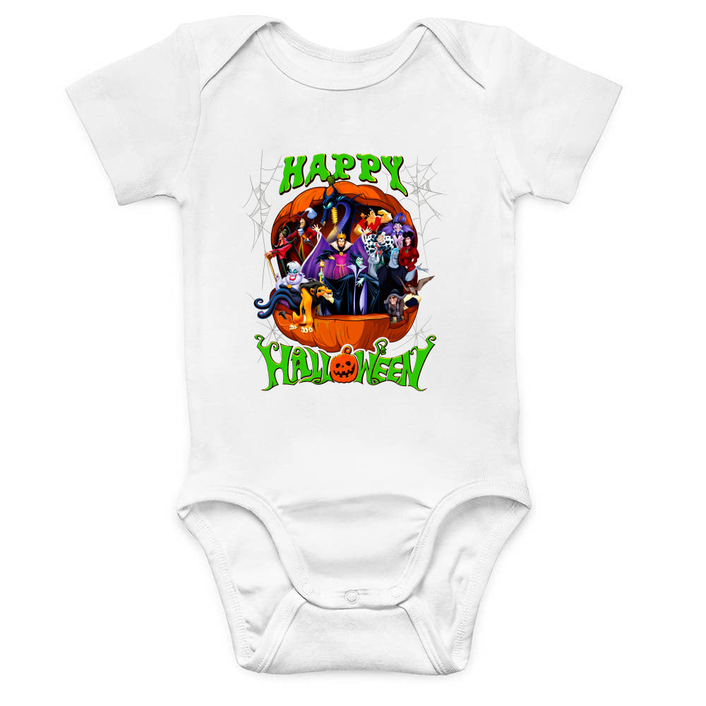 Villains Halloween Baby Bodysuit