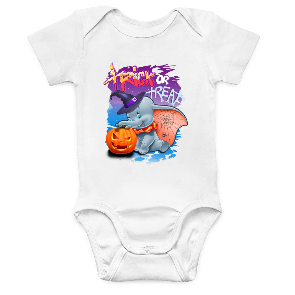 Dumbo Trick or Treat Baby Bodysuit