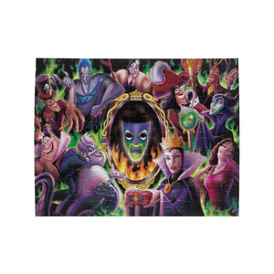 Villains Family Rectangle Jigsaw Puzzle (Set of 110 Pieces)