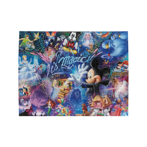 Disney, It's Magic Rectangle Jigsaw Puzzle (Set of 110 Pieces)