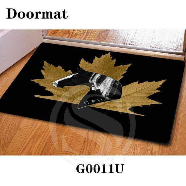 Handsome horse Doormat