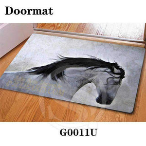 Handsome horse Doormat - D001