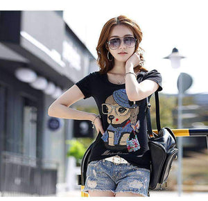 Women Cotton T-shirt 2018