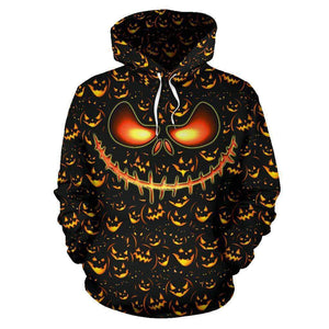 Halloween All Over Hoodie - LT