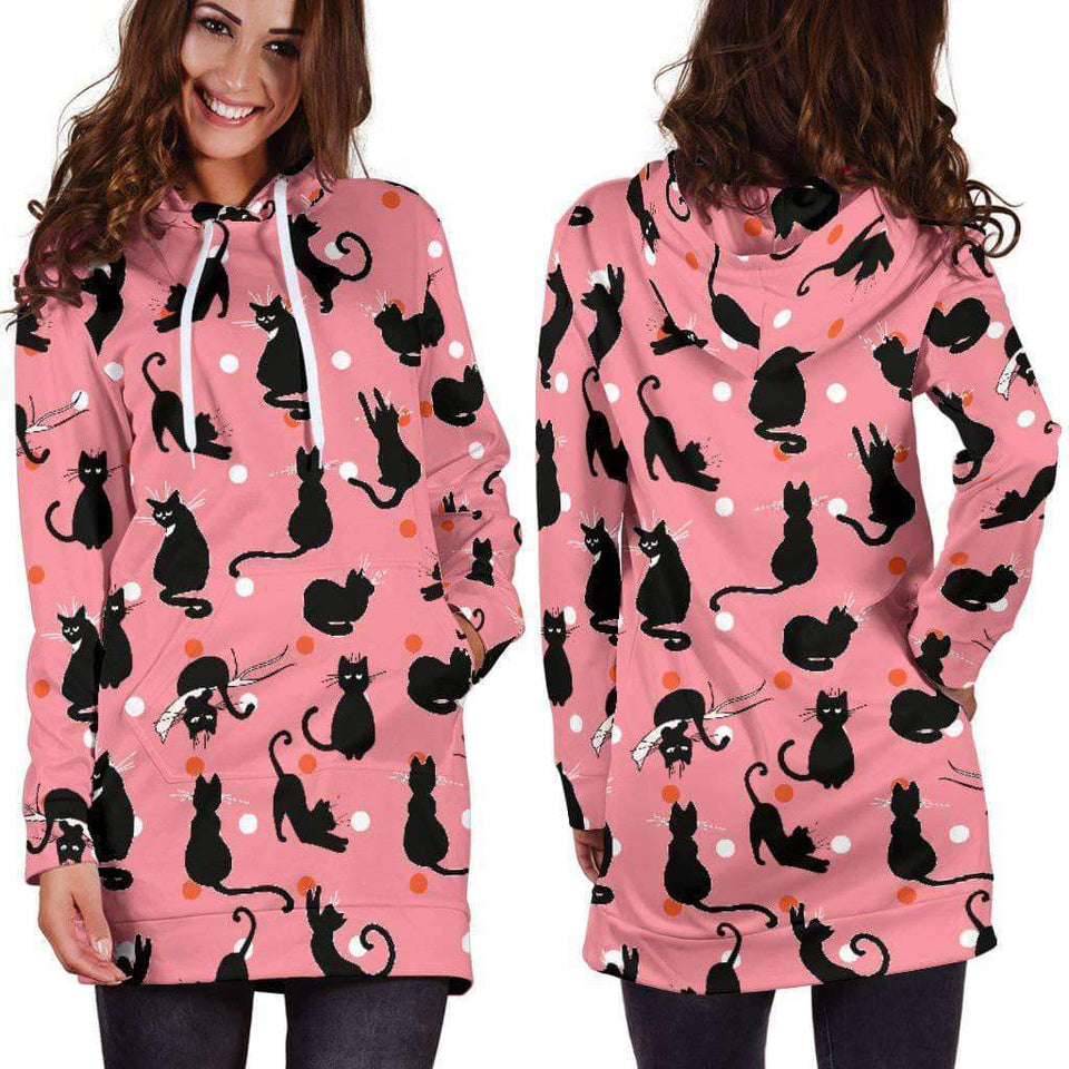 CAT LOVELY - HOODIE DRESS